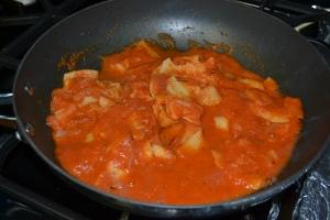 in pan